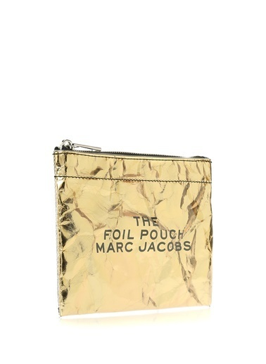 Marc Jacobs Makyaj Çantası Altın